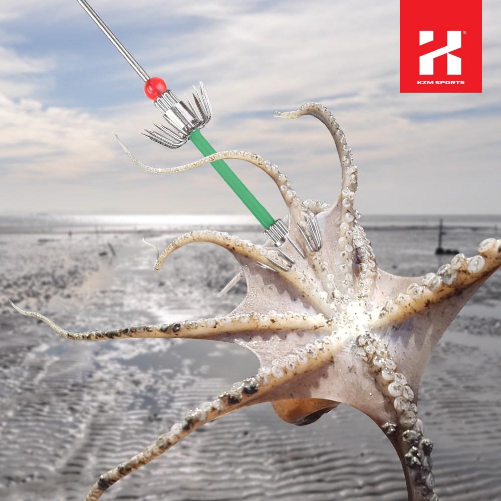 카즈미 낙지 꼬시개 3P 세트 바다 해루질장비 갯벌체험, 조개용