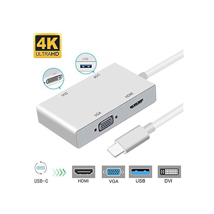 애플어댑터 USB C to HDMI 4K Adapter Weton USB 3.1