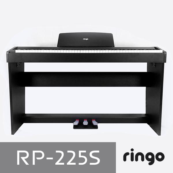 링고 88건반 디지털피아노 RP-225S, 기본상품, 블랙