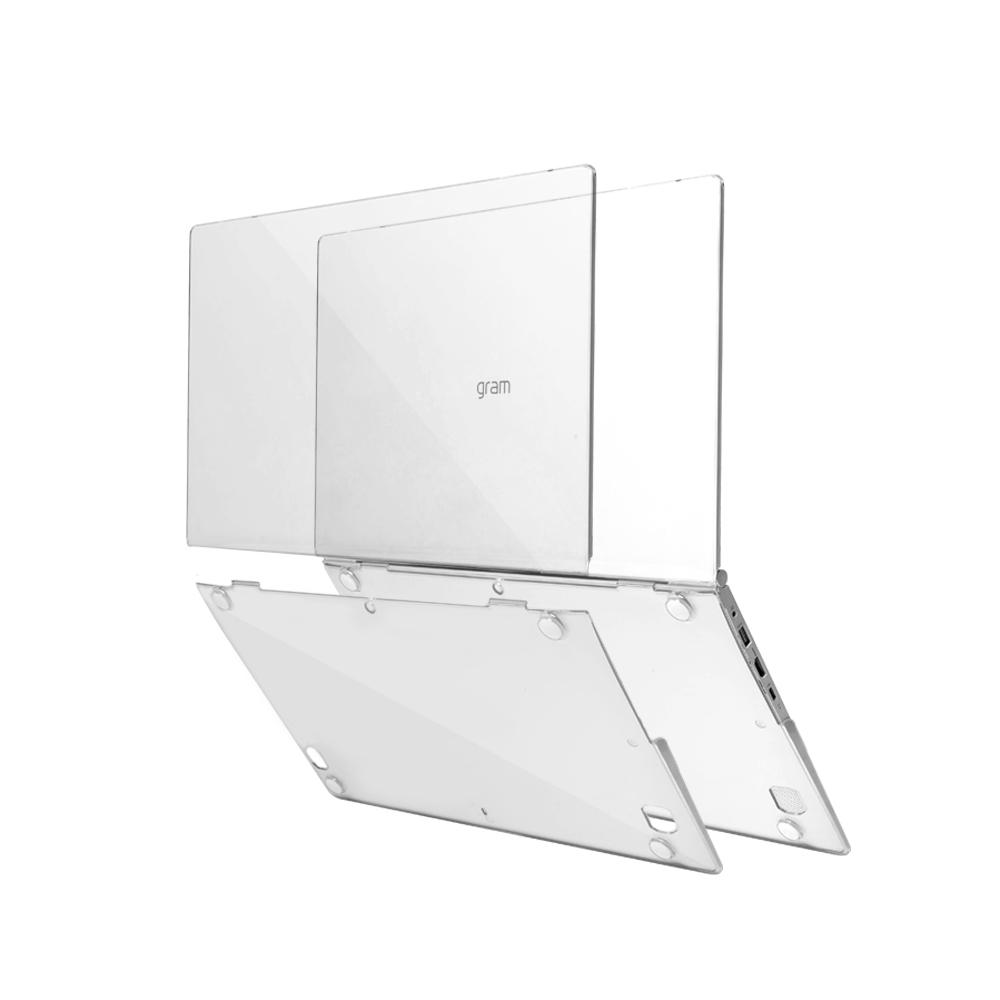 [라온] LG그램전용하드케이스 노트북슬리브파우치, 투명