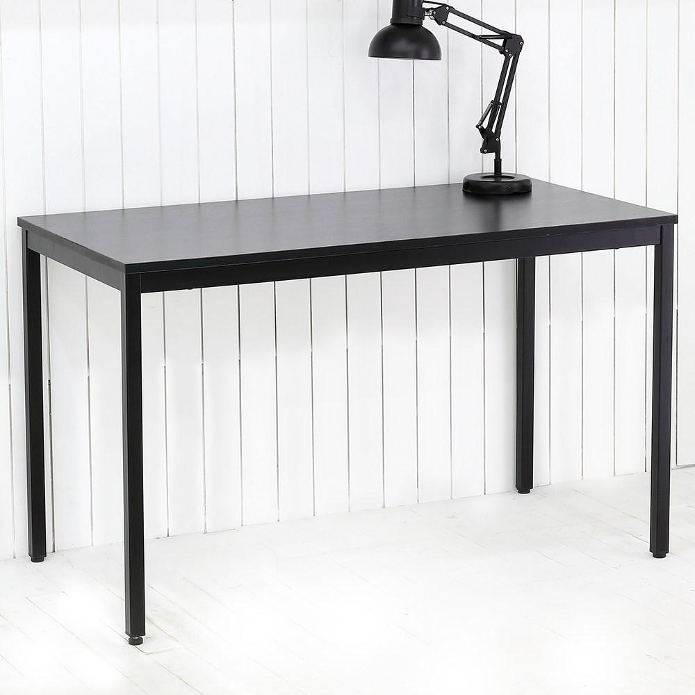 THEJOA 모던테이블 블랙 600 800 1000 1200 1400 카페/업소용/식탁/컴퓨터책상, 모던 1200 블랙