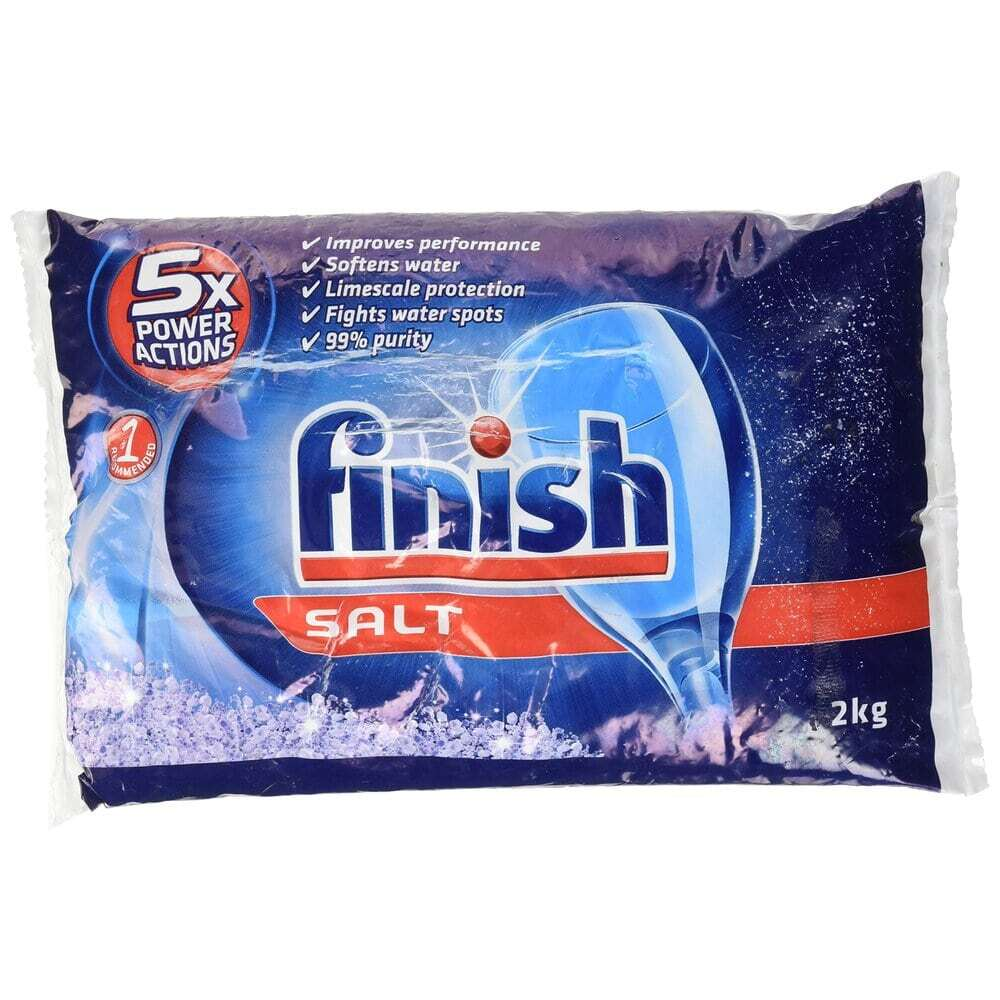 Finish Bosch Dishwasher Salt 피니쉬 보쉬 식기 세척기 세제 소금 2kg 1팩