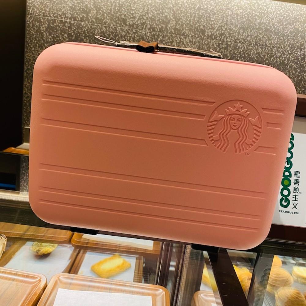 중국 스타벅스 레디백 정품 핑크 그린