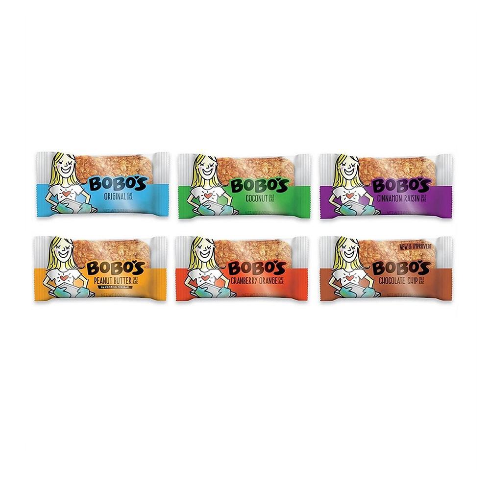보보스 오트 바이트 6가지맛 버라이어티 팩 85g 6팩 Bobos Oat Bites Variety Pack