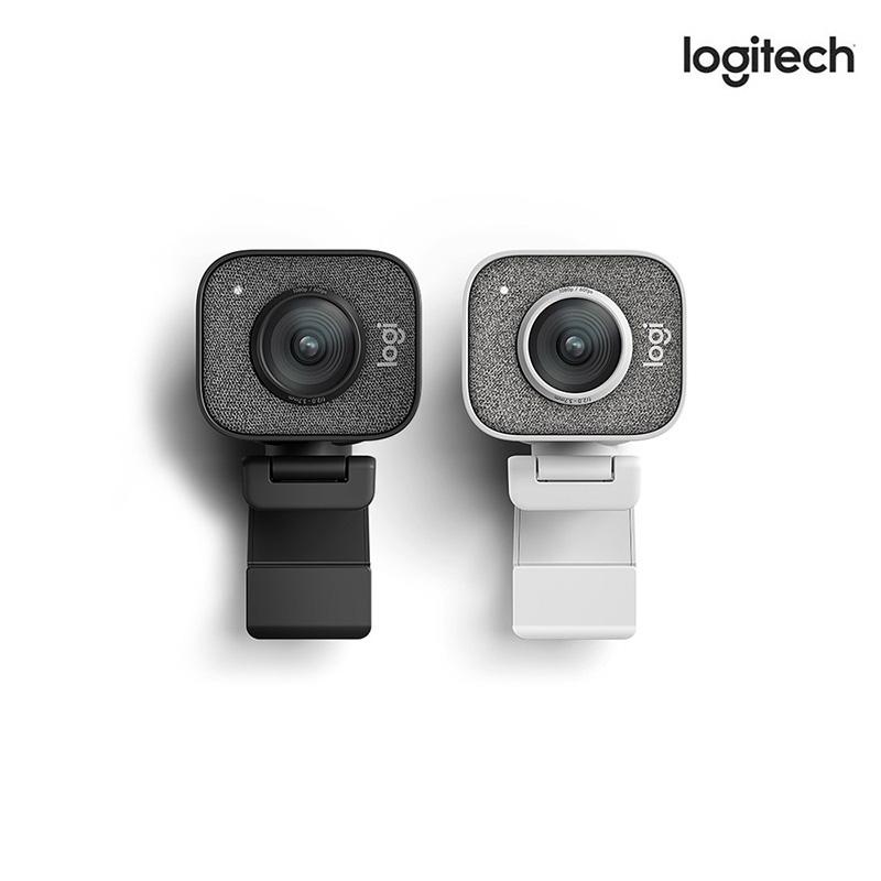 로지텍 Stream Cam 스트리밍 오토포커스 1080p 60fps BJ 스트리머 고화질 화상카메라 웹캠, 블랙