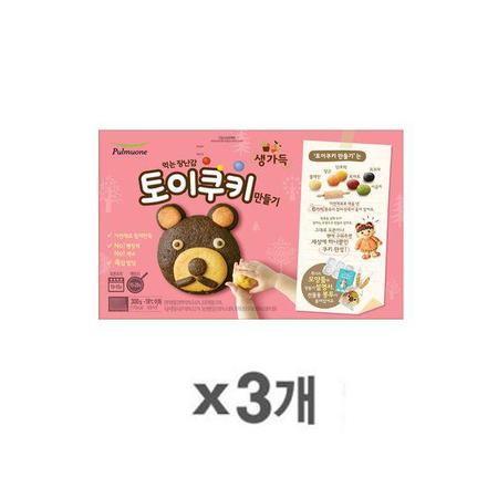 [멸치쇼핑][풀무원] 토이쿠키 만들기 (3박스), 상세페이지 참조