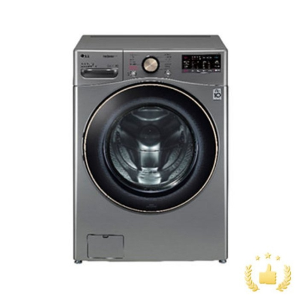 LG전자 드럼세탁기 F21VDSD [21KG/모던스테인리스], 단품