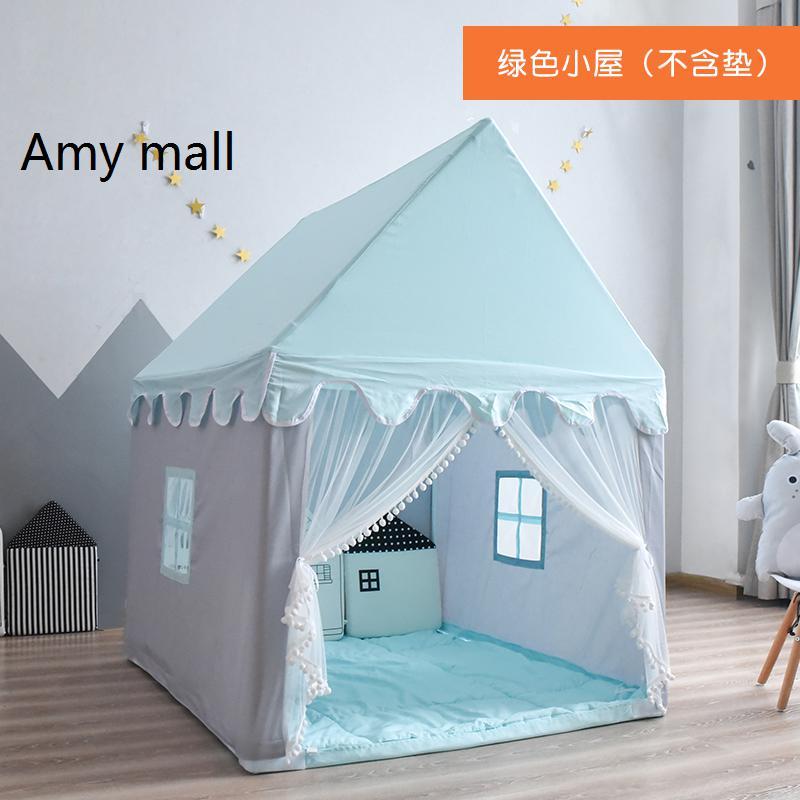 애미몰 어린이 공주 놀이텐트 놀이궁전 집 하우스, 블루