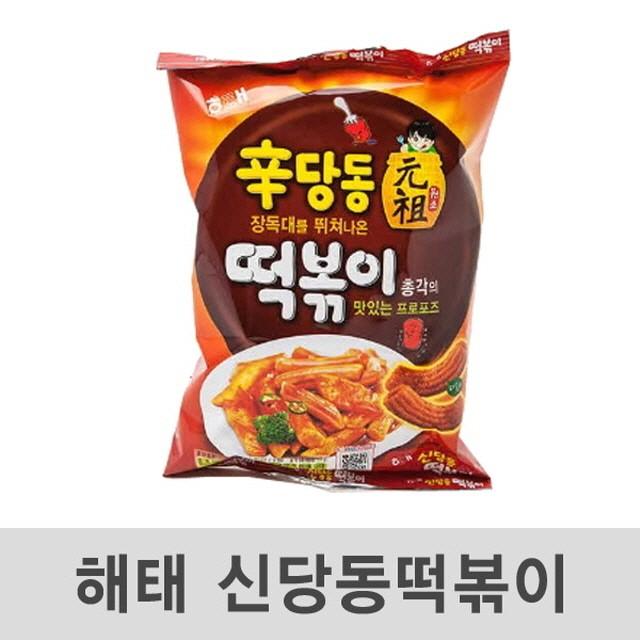 신당동 떡볶이 103g 24봉 과자 껌 간식 음료, 상세페이지 참조
