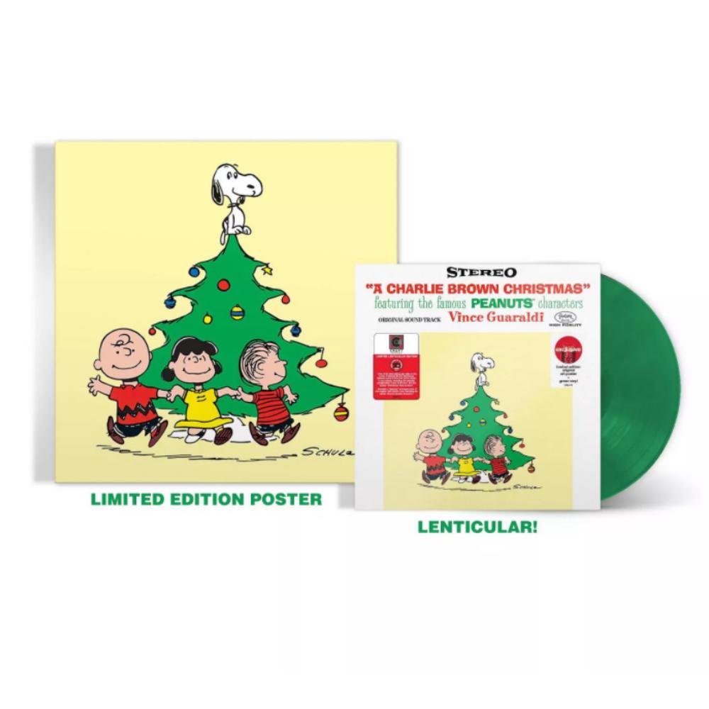 찰리브라운 엘피 판 빈스 과랄디 A Charlie Brown Christmas 그린 컬러