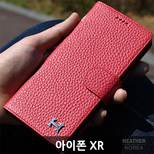 KMT 6_15_아이폰XR 헤더 천연소가죽 핸드폰케이스 iP hp118 XR