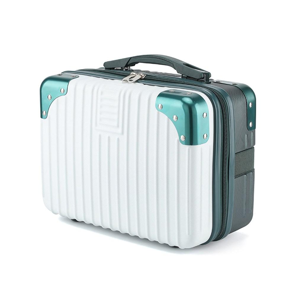 여행용 서머레디 14인치 하드 캐리어 가방 화이트그린
