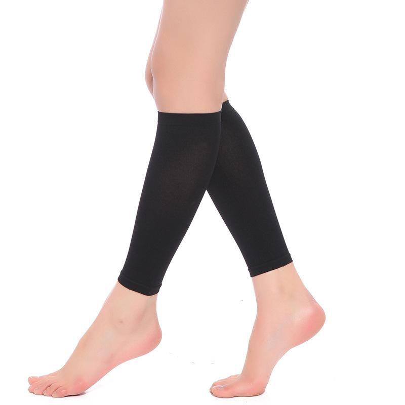 종아리 압박 밴드 스타킹 의료용 남자 운동 쿠팡추천 살색 검정색 블랙 다리부종 러닝 하지정맥류 수면, 블랙(검정)