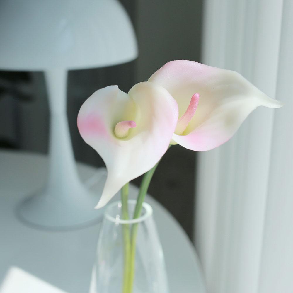 아베라 카라 조화 부케 셀프웨딩 브라이덜샤워꽃, 핑크