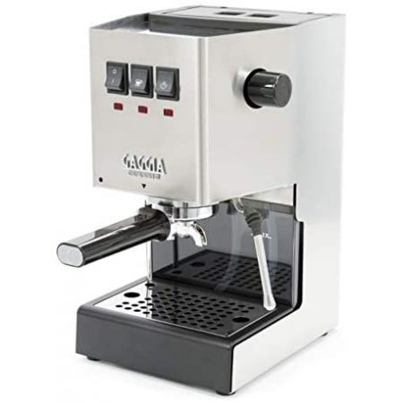 [아마존베스트]Gaggia RI938046 Classic Pro Espresso Machine Solid Brushed Stainless Steel, Brushed Stainless Steel_Solid, 상세 설명 참조0, 상세 설명 참조0