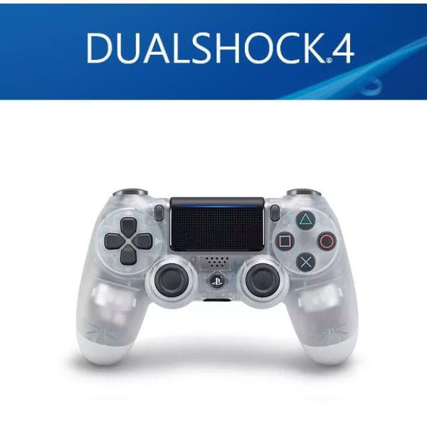 SONY 소니 PS4 듀얼쇼크4 DUALSHOCK 4 무선 글레이셔컨트롤러 7종, 1개, 클리어화이트