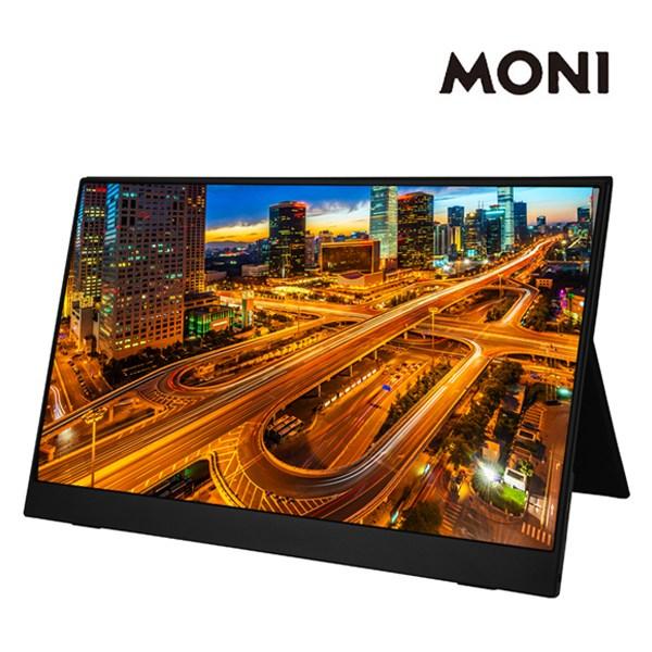 모니 15.6인치 멀티터치 포터블 모니터 휴대용, MONI 15.6인치 포터블 모니터