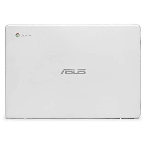 노트북 파우치 mCover Hard Shell Case for 2019 14-inch ASUS Chromebook C423NA Series Laptop - ASUS C423 Aqua, Color = Clear