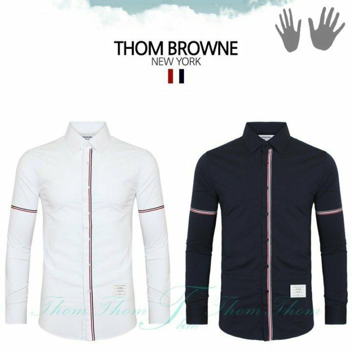 톰브라운 L6 더블 암밴드 셔츠