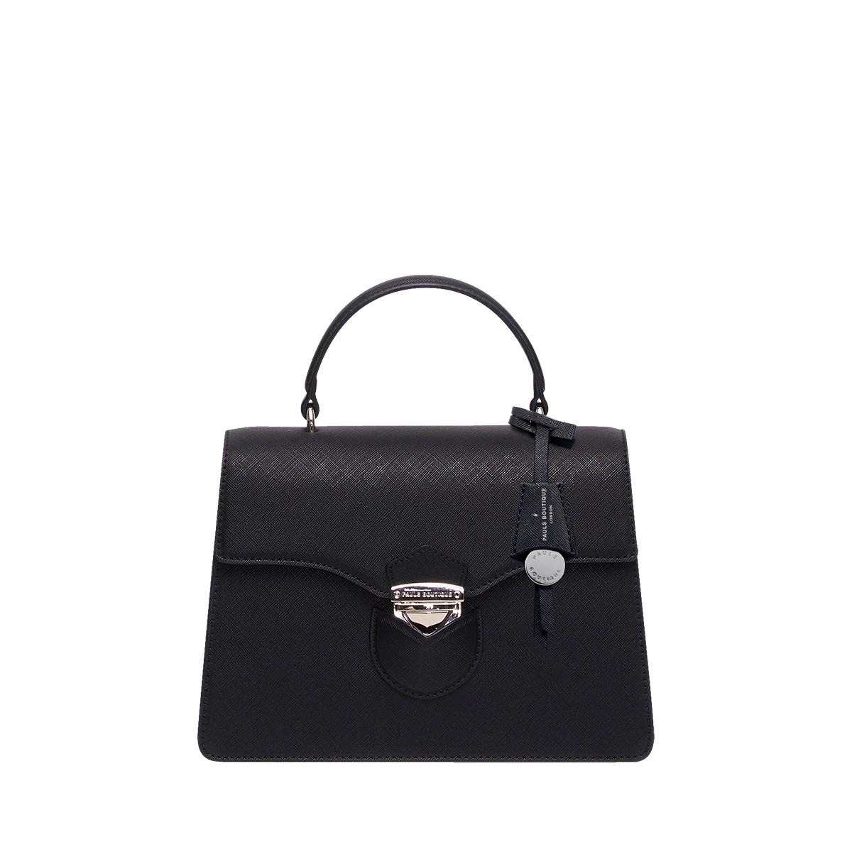 폴스부띠끄 20대여성도트백 크로스백 아이돌 가방으로 유명한 사피아노소재 TULLY 튤리백 PK5BTT7TYTBK 블랙 컬러