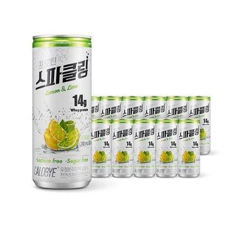 칼로바이 프로틴 스파클링 단백질 음료 분리유청 WPI 헬스보충제 12개입, 48개입, 240ml