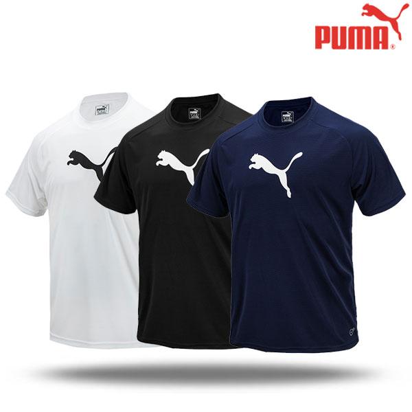 푸마 반팔 라운드 티셔츠 클론티 반티 단체티