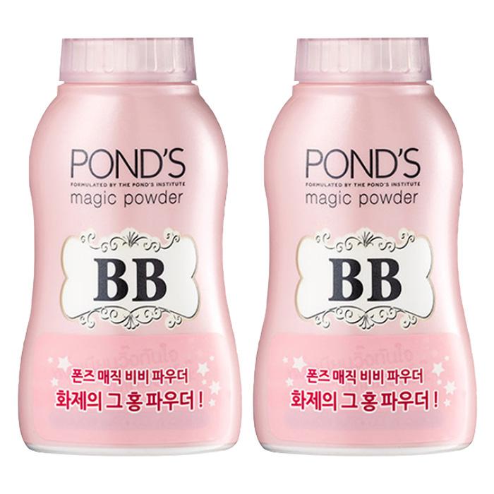 폰즈 매직 비비 파우더 50g, 핑크, 2개