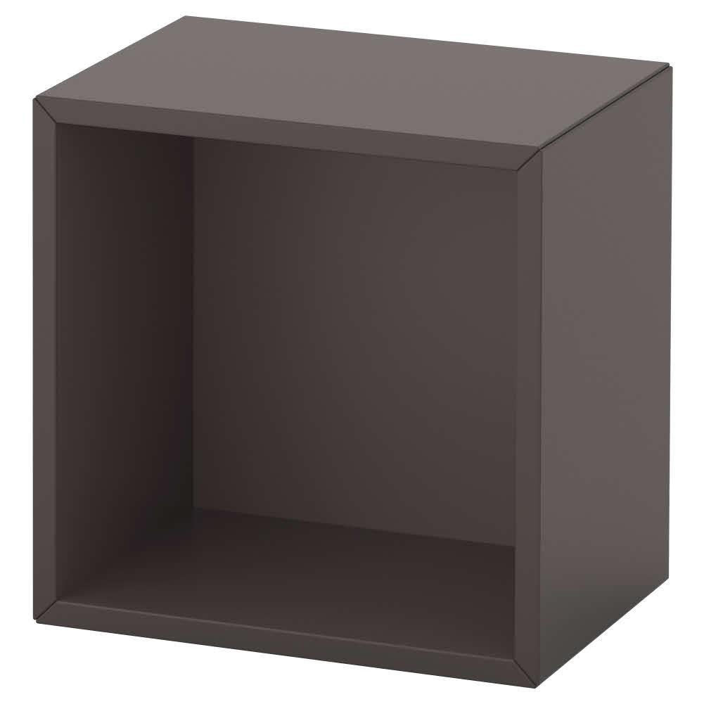 수납장 다크그레이 에케트 35x25x35 cm, 기본