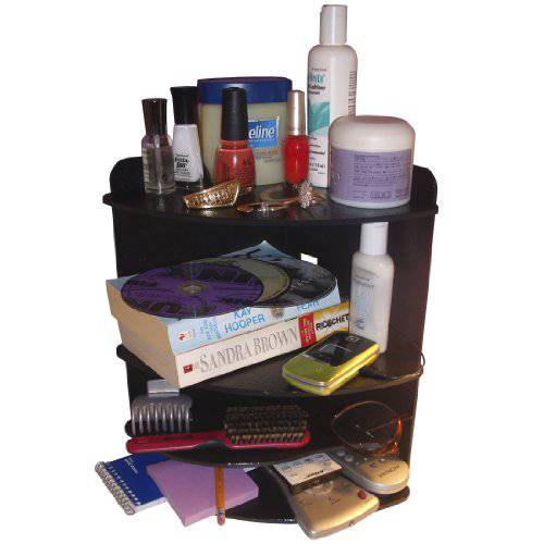 Corner Shelf Organizer makes Your Night Stand or Countertop N/8908129
