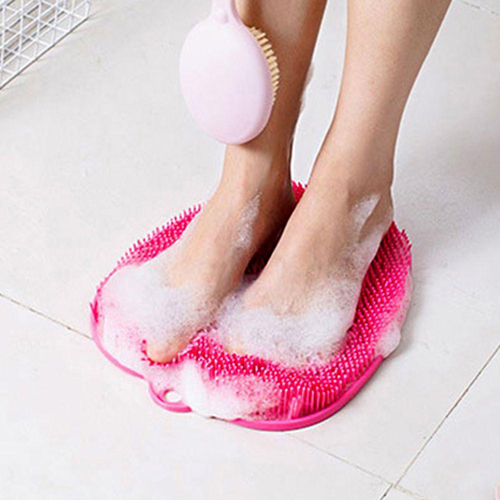 HA무배 지압 발매트 손안대고 발씻기 욕실 // 발세척 발브러쉬 발닦이, 1개, 민트, 상품선택
