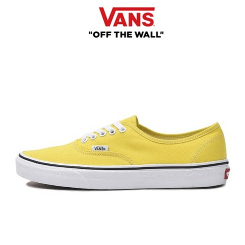 반스 어센틱 남녀공용 스니커즈 옐로우 노랑 VN0A2Z5IFSX