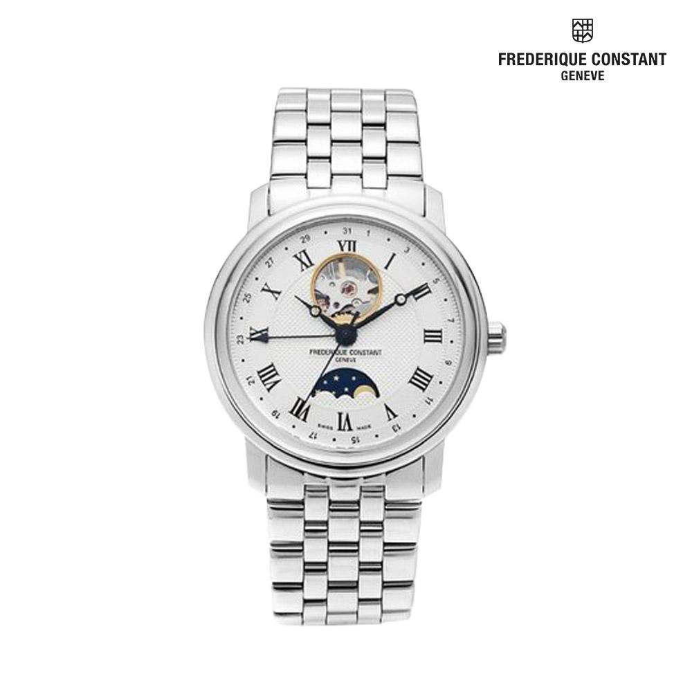프레드릭콘스탄트 문페이즈 남성 손목시계 335MC4P6B2