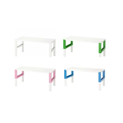 이케아 PAHL 폴 책상 4가지 색상 (128x58cm), 핑크_692.451.04