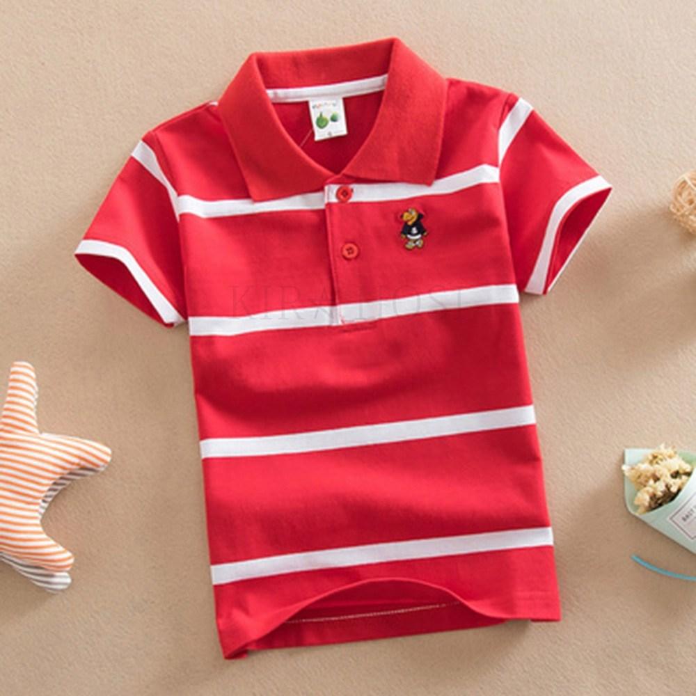 kirahosi 남아 반팔 티셔츠 아동복 여름 반팔 폴로 79호+ 덧신 증정 BGtgksxb