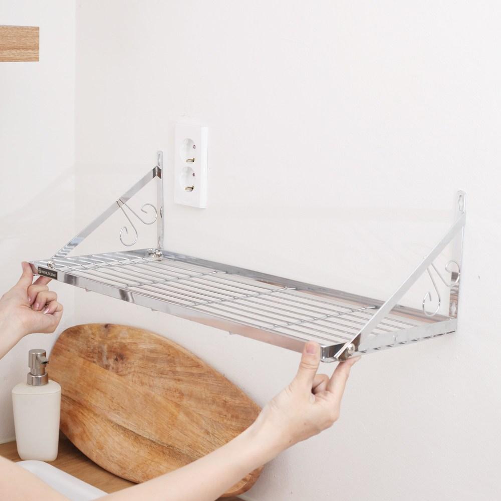 온라이프 [당일출고] 튼튼한 벽선반 벽걸이선반 거실 주방 베란다선반, 벽선반 23소