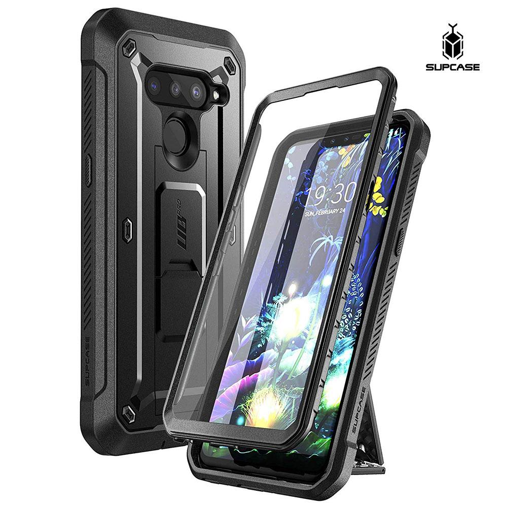Supcase LG V50 ThinQ V50s 5G 핸드폰케이스 휴대폰케이스 핸드폰스탠드 보호필름 4색