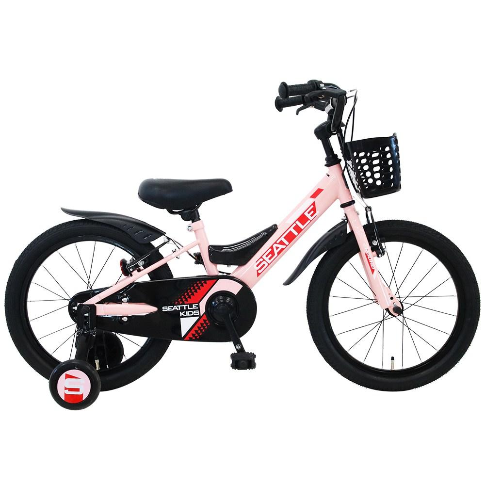 2021 삼천리자전거 하운드 아동용 시애틀 키즈 18인치, 미조립박스, 핑크