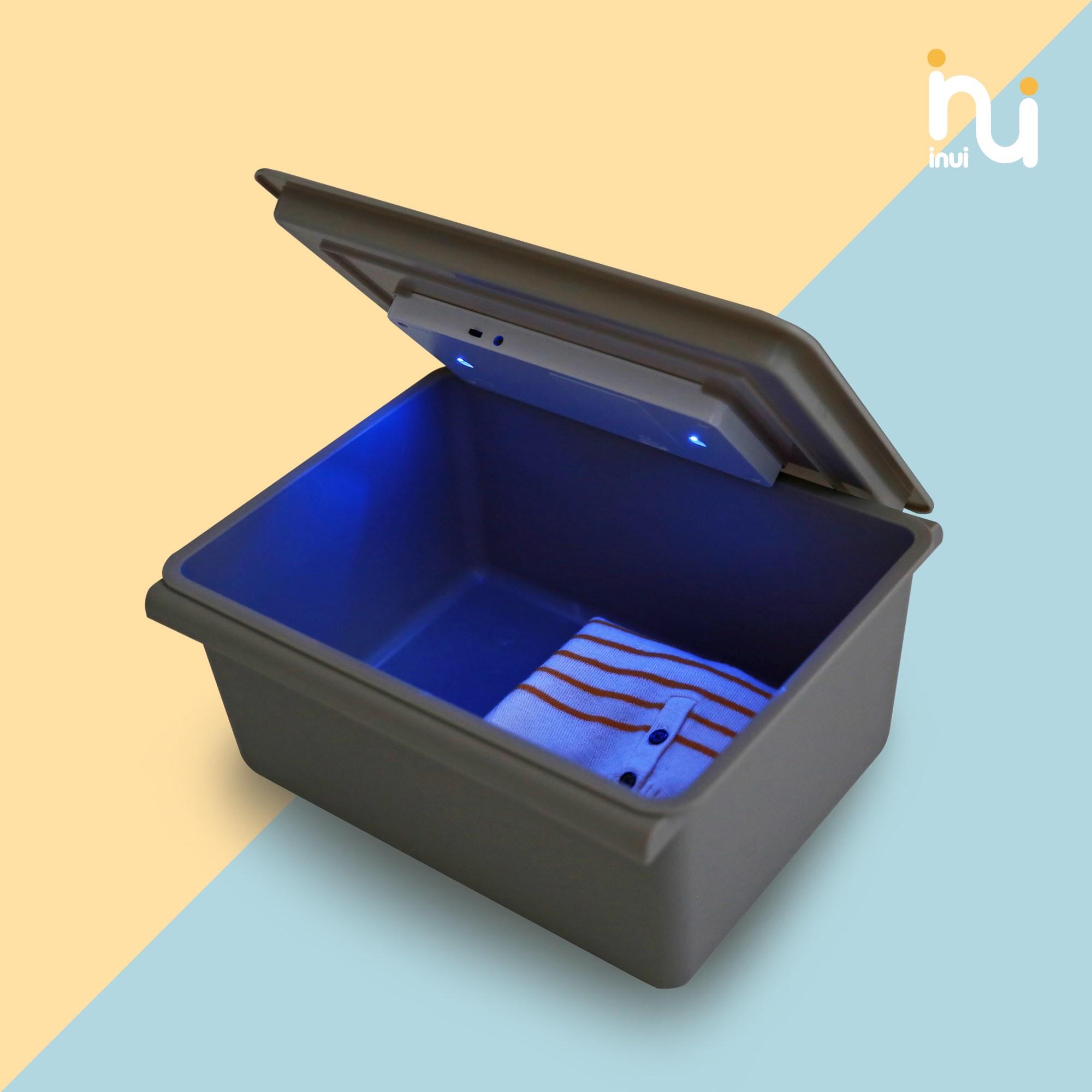 이누이 살균키트 바구니세트 장난감소독기 장난감살균기, 그레이바구니1EA+살균키트1EA