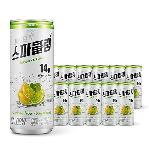 칼로바이 프로틴 스파클링 단백질 음료 분리유청 WPI 헬스보충제 12개입  240ml칼로바이 프로틴 스파클링 단백질 음료 분리
