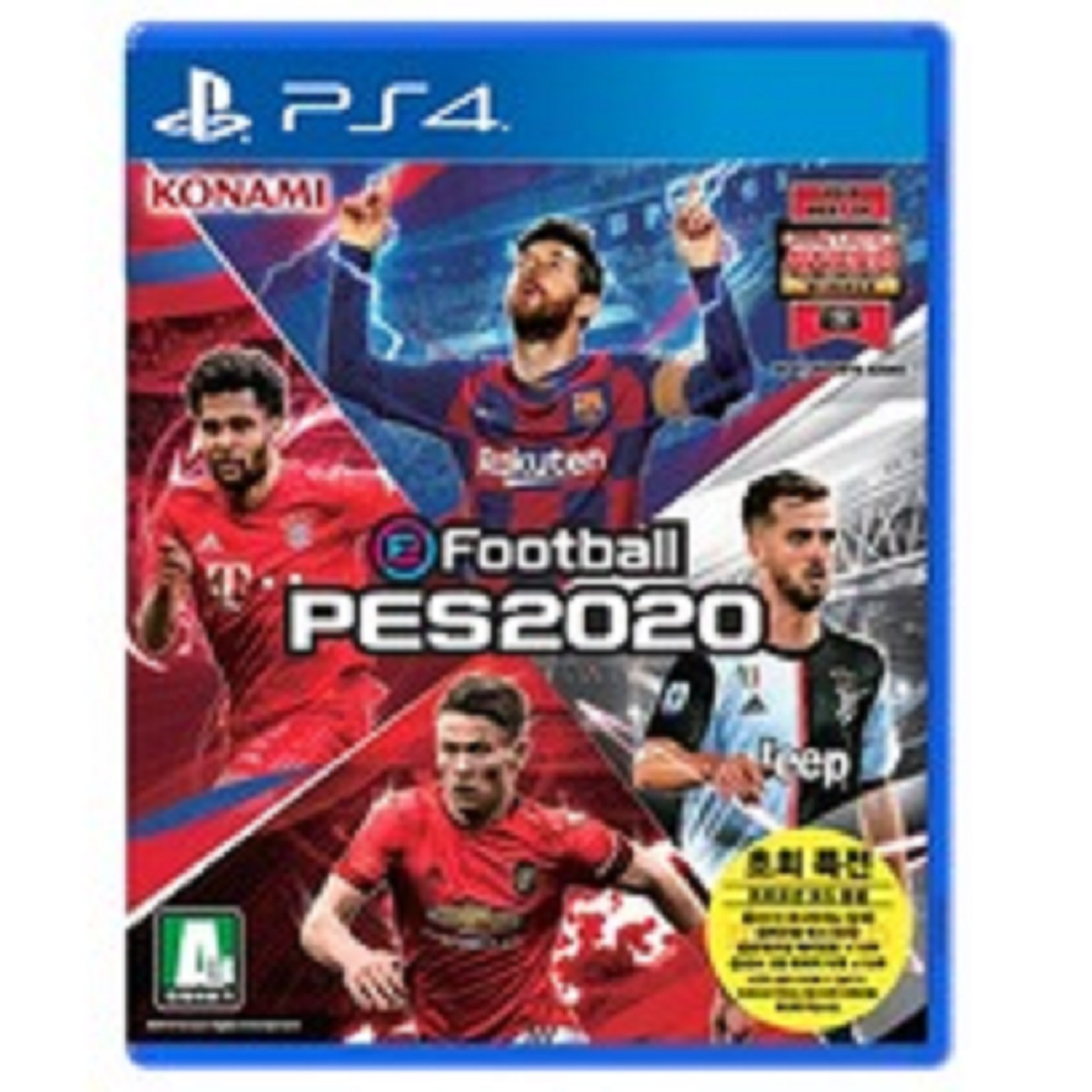 PS4 위닝일레븐 2020 PES2020 (한글판) 초회 새제품, PS4 위닝일레븐 2020  PES2020 (한글판) 초회 새제품