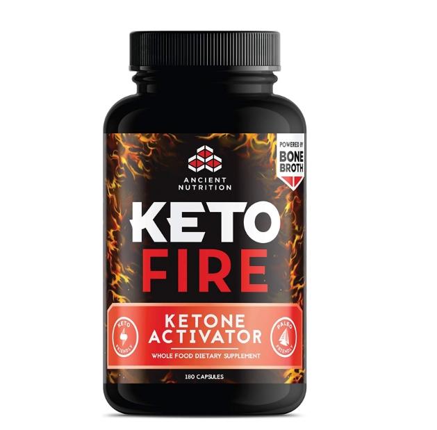 [이라운드몰]에이션트 뉴트리션 KetoFIRE Capsules 케토 보충제 케톤 활성화제 180정, 옵션선택