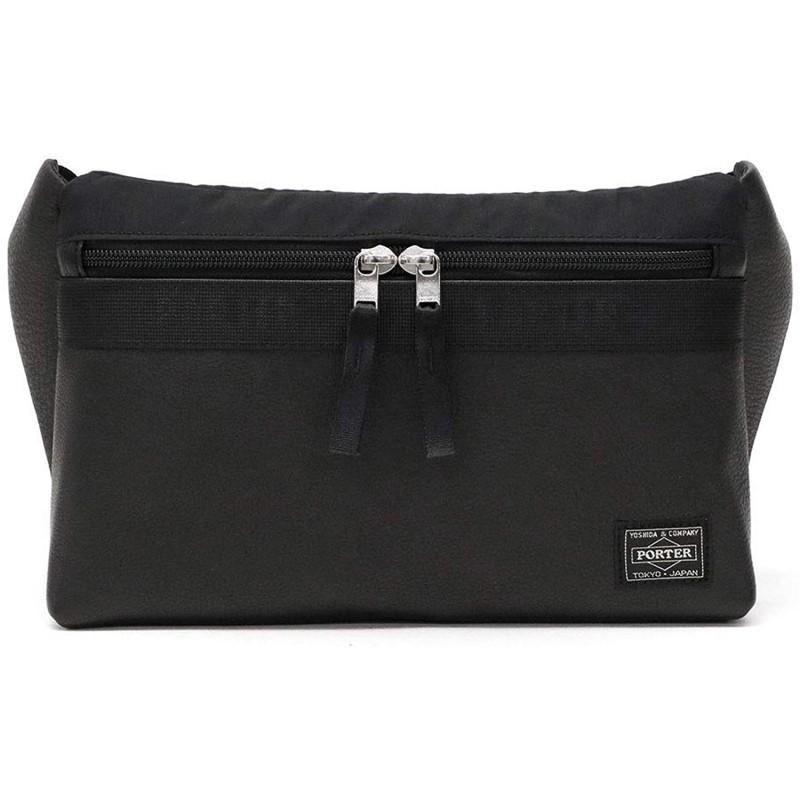 [포터] PORTER 휴식 RELAX WAIST BAG 허리 가방 328-01524 블랙 / 10