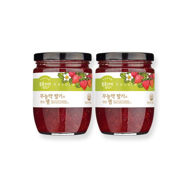 복음자리 무농약 딸기잼 360g+무농약 360g, 1세트