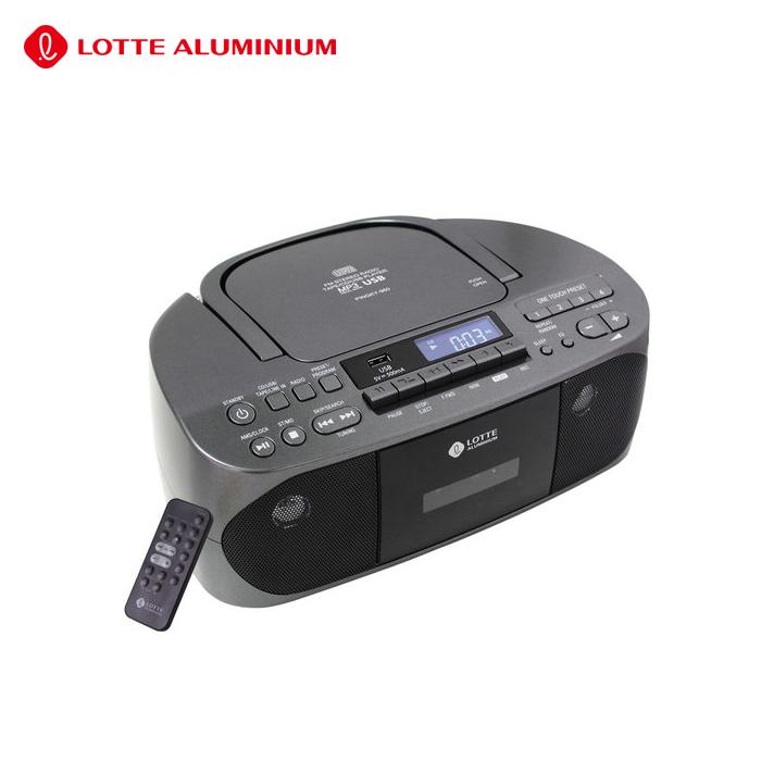 롯데알미늄(주) 핑키-960 CD카세트.MP3CD.라디오.테잎.USB재생.동요CD증정.당일출고, 롯데 핑키-960+동요CD증정!
