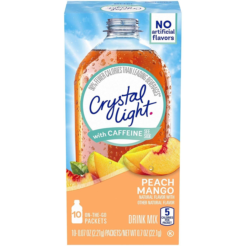 Crystal Light 피치 망고 드링크 믹스 10개입, 22.1g, 1개