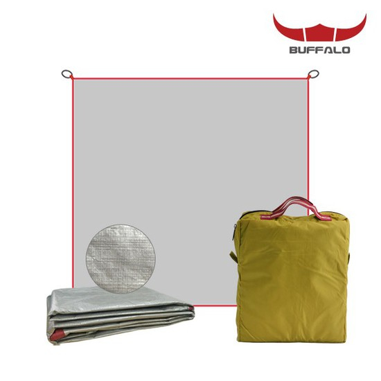 버팔로 그라운드시트 350/방수포 바닥시트 캠핑매트