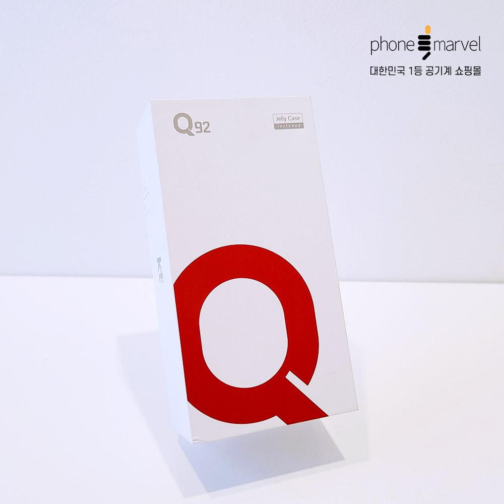 LG Q92 가개통 공기계 Q92 가개통 새제품, 3사공용 레드, 없음