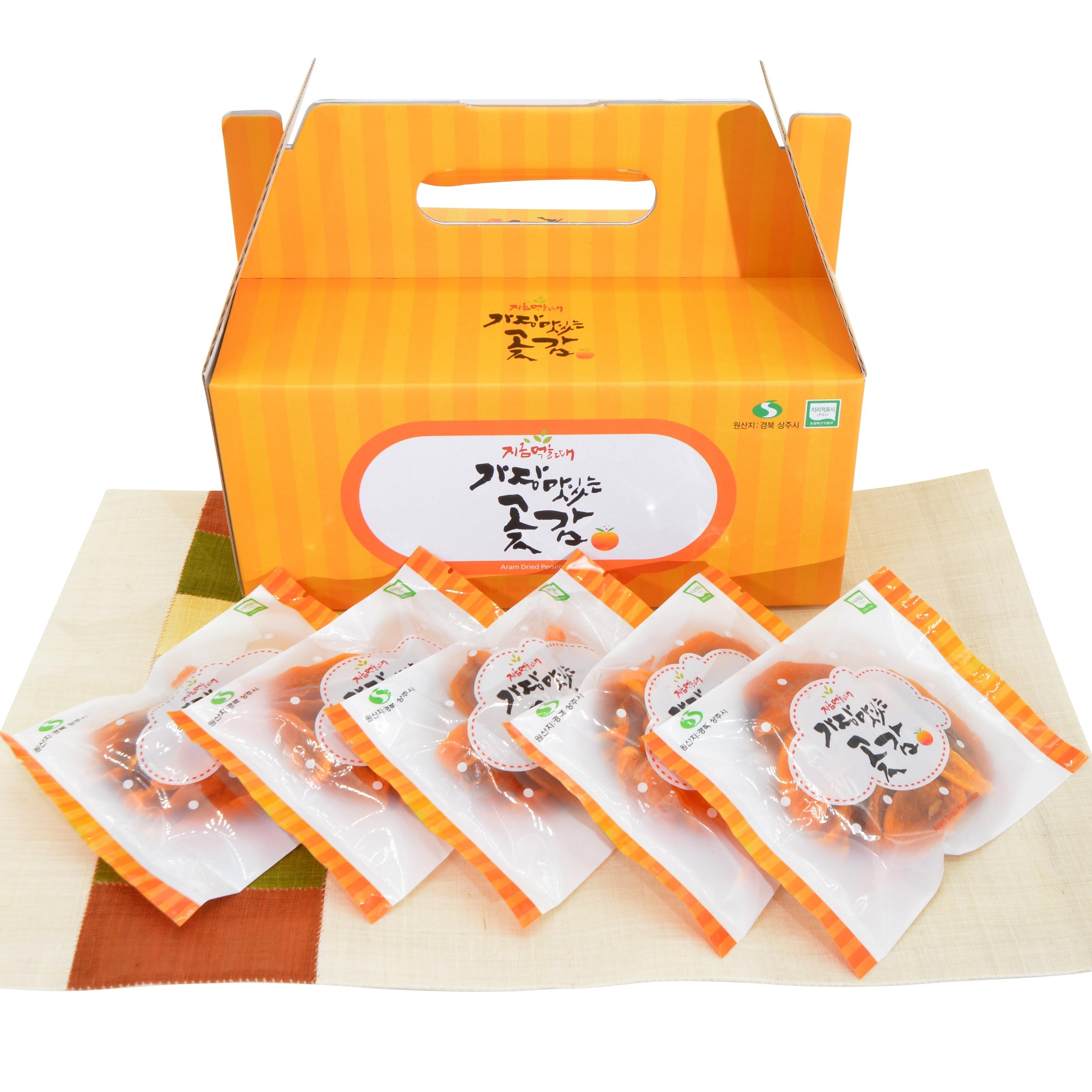 하루한봉 대봉 감말랭이 세트[1박스], 단일상품