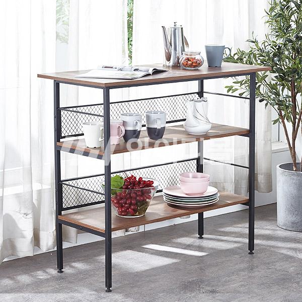 수납형 홈바 테이블 높은 아일랜드 식탁, 1000_월넛 (YWD3042-WN)