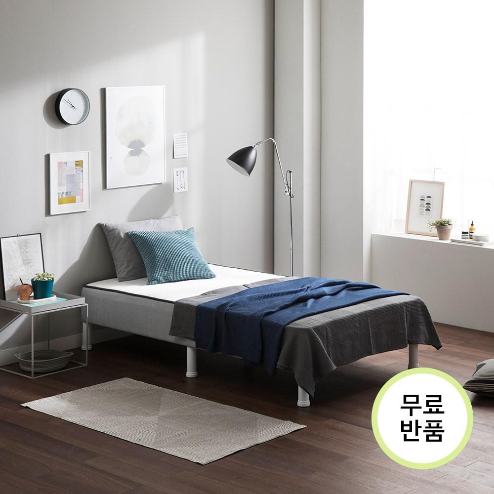 슬립웰 원룸 일체형 침대 S SS D Q _프레임 매트리스, 1. 일체형 침대 싱글[S]